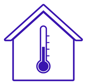 V dome bude teplo vďaka podlahovému vykurovaniu